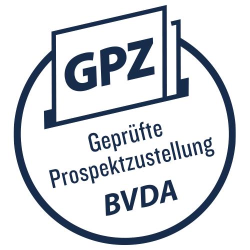 GPZ geprüfte Prospektzustellung BVDA
