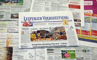 Printwerbung Leipzig
