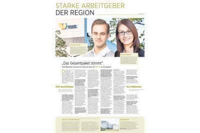 Starke Arbeitgeber der Region - VNG AG