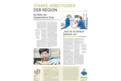 Starke Arbeitgeber der Region - Helios Kliniken und Woitzik Sanierungsservice