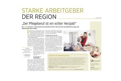Starke Arbeitgeber der Region AWO Sachsen-West