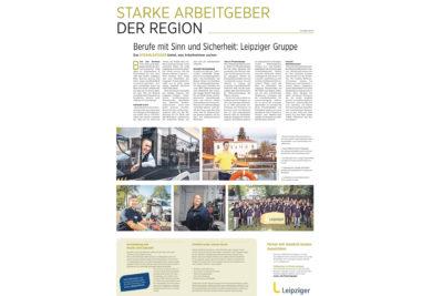 Starke Arbeitgeber der Region - Leipziger Gruppe